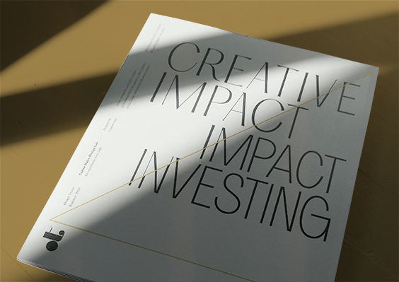 Book Cover of Creative Impact - Impact Investing